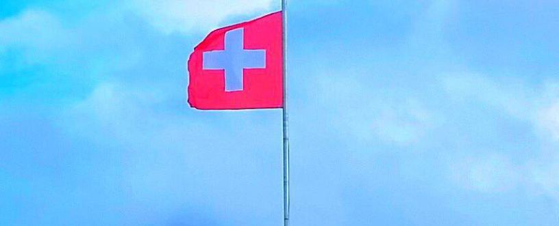 Swiss flag, switzerland vacation