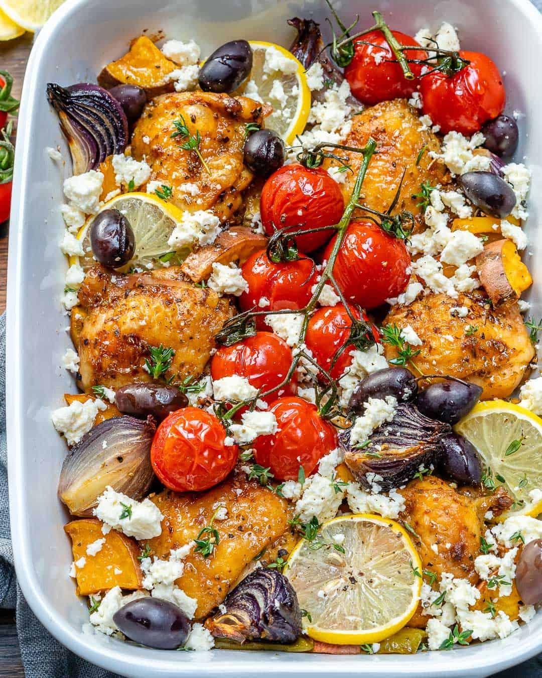 Super Delicious Greek Chicken Bake Recipe   Healthy ...
