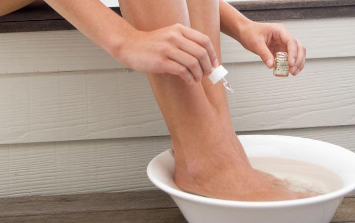 soak feet for ingrown toenail