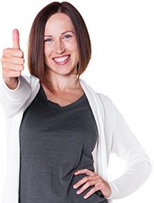 woman-thumbs-up