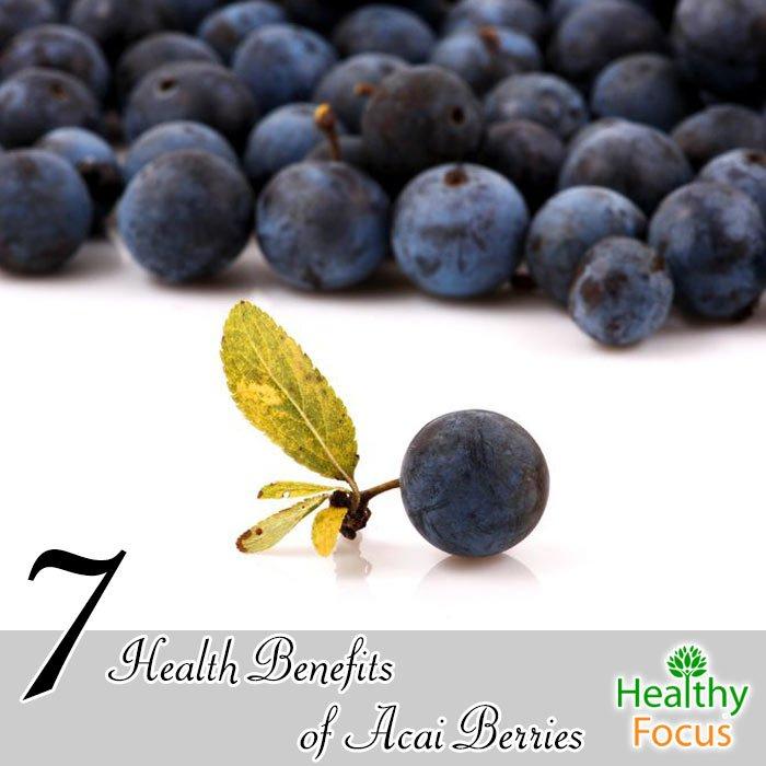 7 Health Benefits of Acai Berries