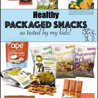 Healthy Packaged Snacks- as tested by my kids!