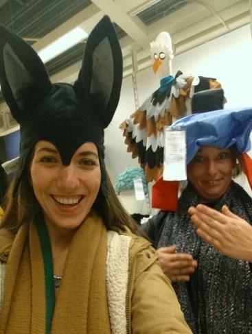 Ze hebben heel leuke verkleed spullen bij Ikea!