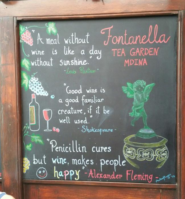 Fontanella Tea Gardens Mdina 1
