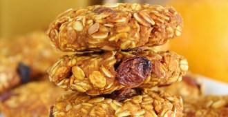 Chewy pindakaas pompoen koekjes2