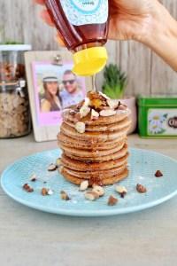 haverpannenkoekjes met noten en Syrup Gold 1