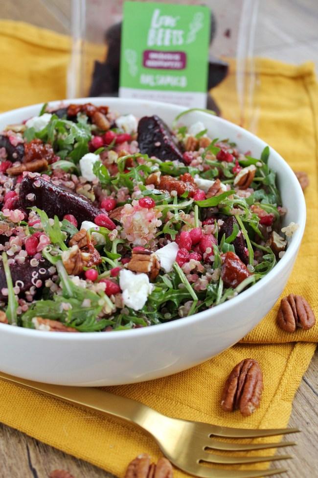 quinoa rode biet salade