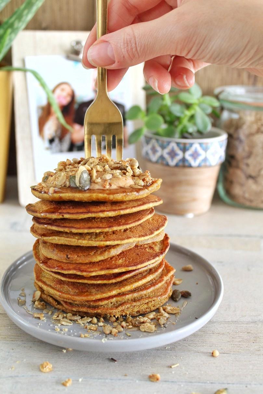 Golden milk pannenkoekjes 1
