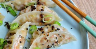 vegan dumplings.