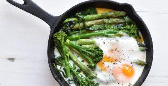 Groene asperges met ei van Anne travel foodie