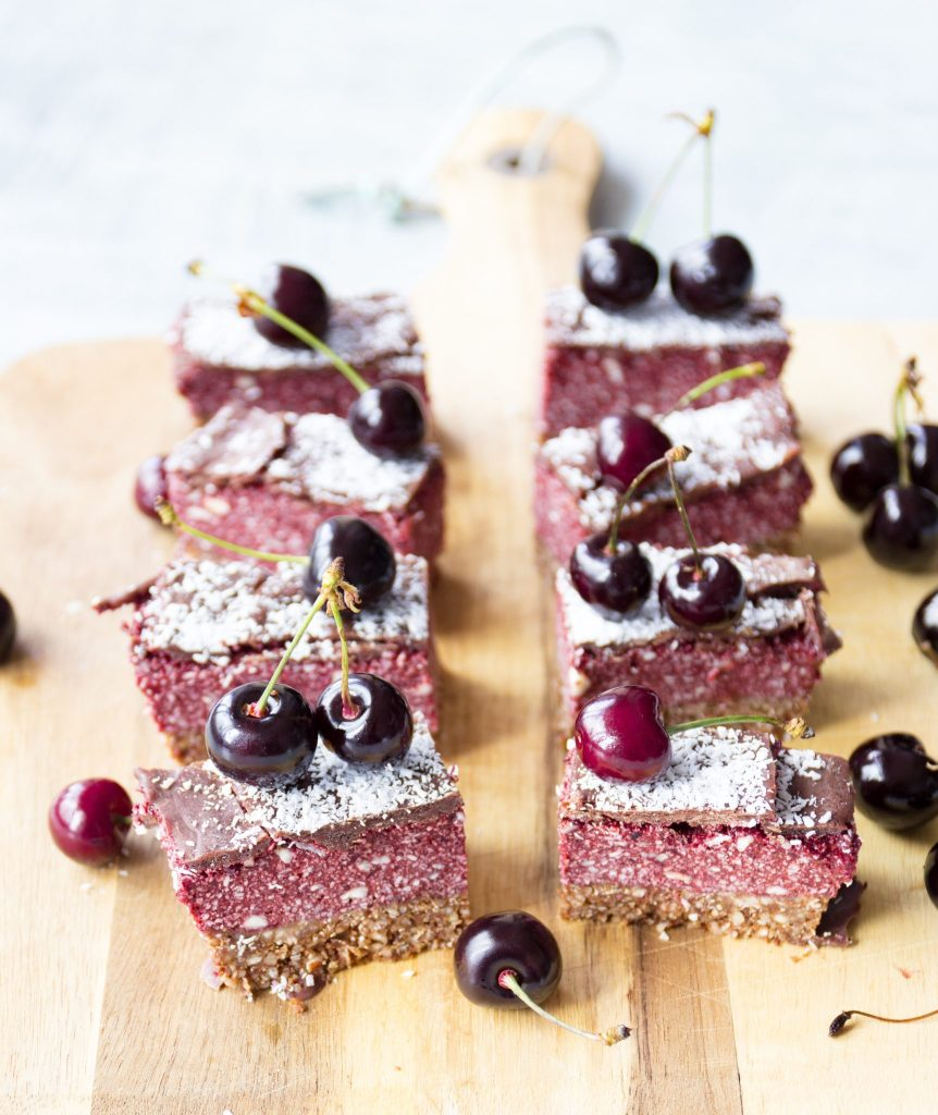 vegan and healthy cherry ripe recipe
