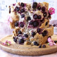 Blueberry Lemon & Poppyseed Loaf (GF, VEGAN and Allergy Friendly)