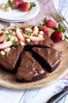 vegan gluten free chocolate mud cake recipe