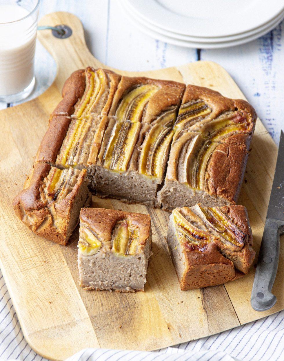 buckwheat banana bread vegan and gluten free
