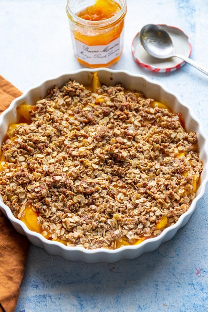 vegan crumble recipe