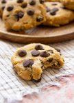 healthy chickpea cookies