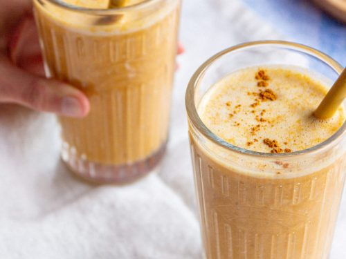 vegan pumpkin smoothie