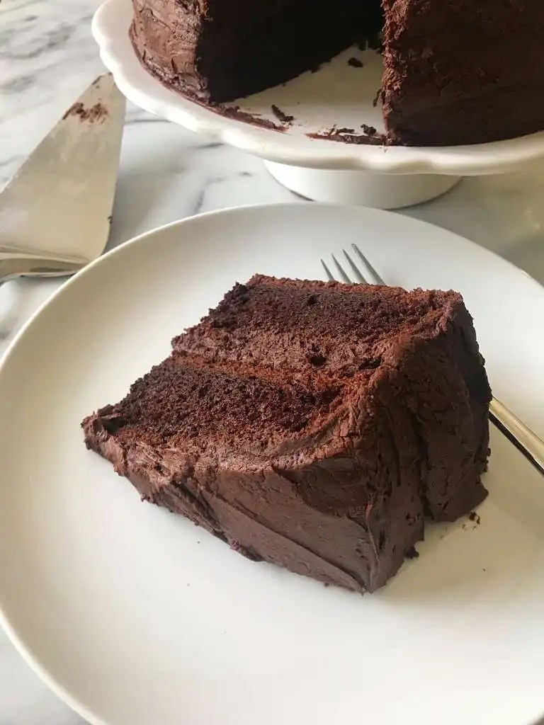 The Best Chocolate Cake With Buttercream Frosting Healthygffamilycom