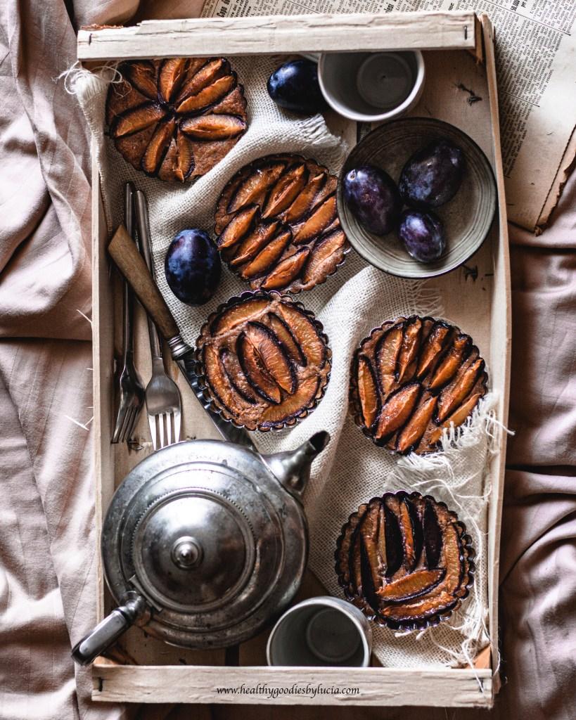 Gluten-Free & Vegan Plum Mug Cake   Healthy Goodies by Lucia