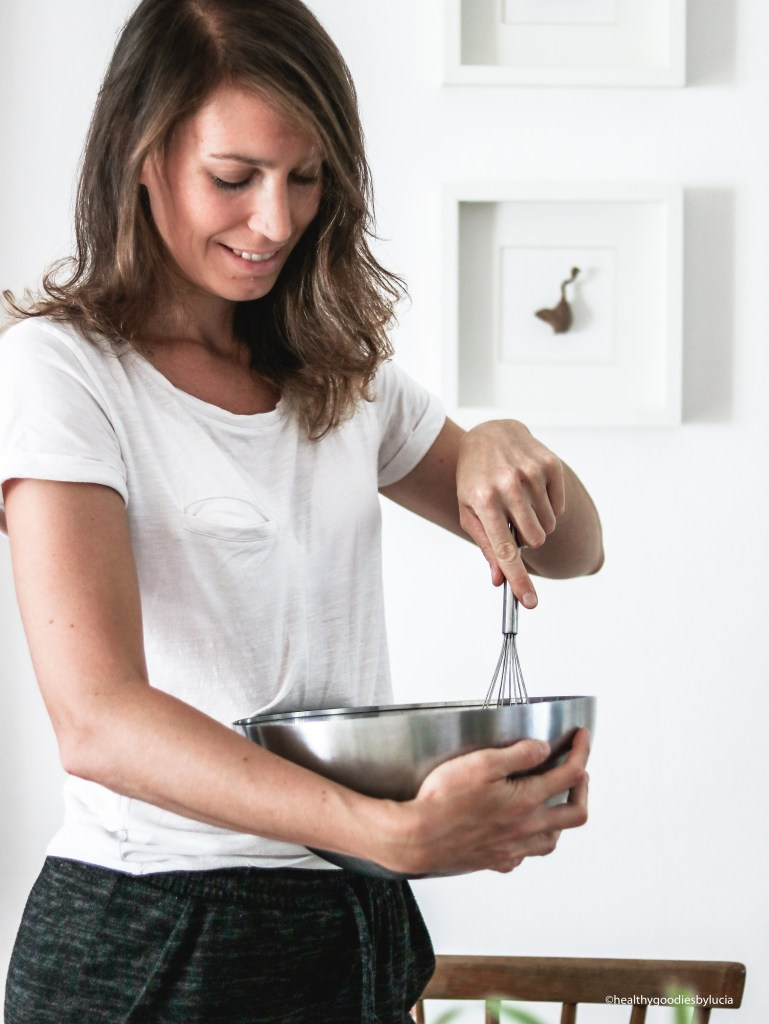 Lucia of Healthy Goodies, food blogger and photographer