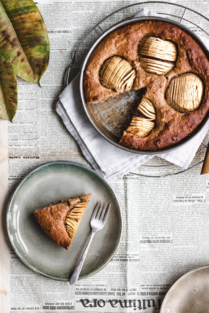 Gluten-free apple pie with chickpea flour | Healthy Goodies by Lucia