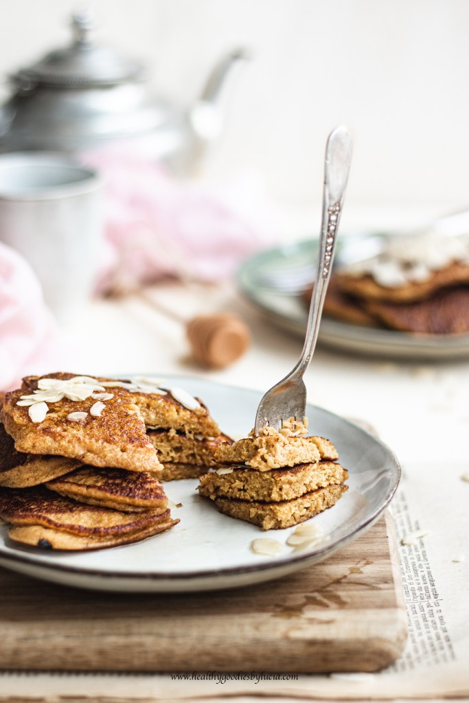 Pumpkin chickpea Pancakes | Healthy Goodies by Lucia-7451