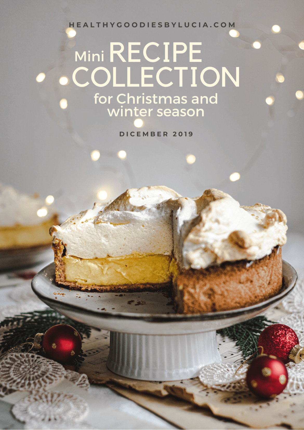 Mini Recipe Collection for winter and Christmas | Healthy Goodies by Lucia