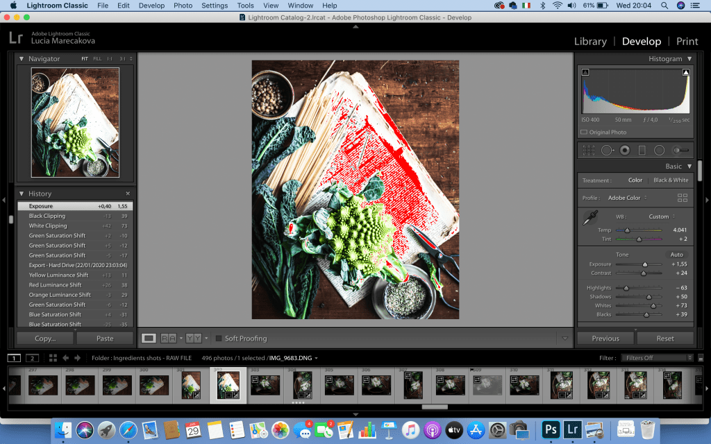 14 Lightroom shortcuts for image editing | Healthy Goodies by Lucia