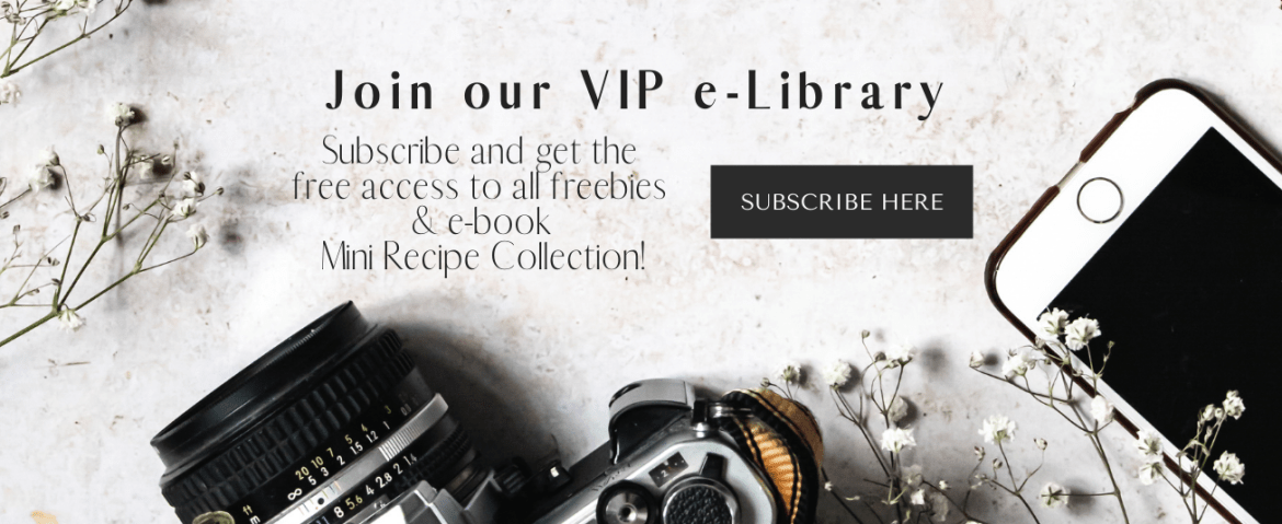 Our VIP e-library | Healthy Goodies by Lucia