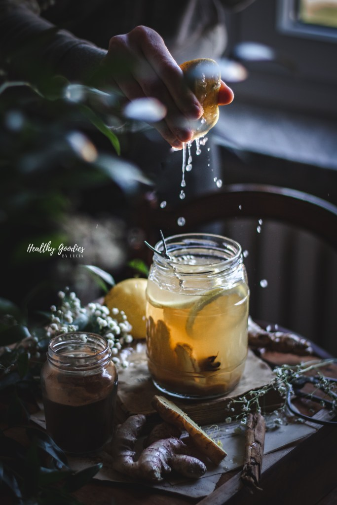 Ginger syrup | Healthy Goodies by Lucia Marecak