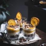 Orange, Chocolate & Hazelnuts Mini Cheesecakes |Healthy Goodies by Lucia Marecak