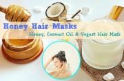 homemade honey hair masks