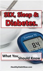 diabetes sleep sex