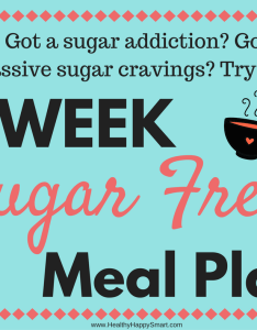 Got sugar cravings or addiction try the free diet plan no   also simple week meal pdf  healthy happy rh healthyhappysmart