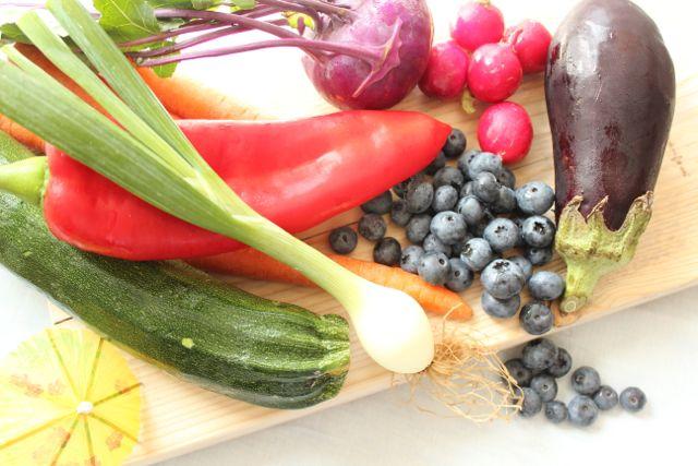 seasonal veggies august - healthyhappysteffi.com
