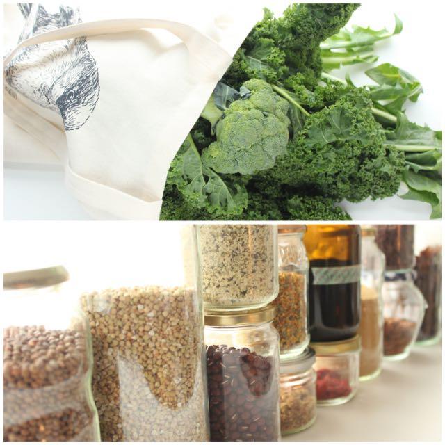 Nachhaltigkeit in der Küche - www.healthyhappysteffi.com