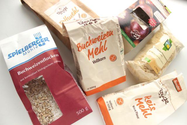 Glutenfreie Produkte - www.healthyhappysteffi.com