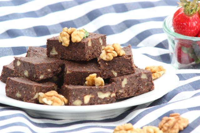 Espresso-Walnuss-Brownies mit Buchweizen