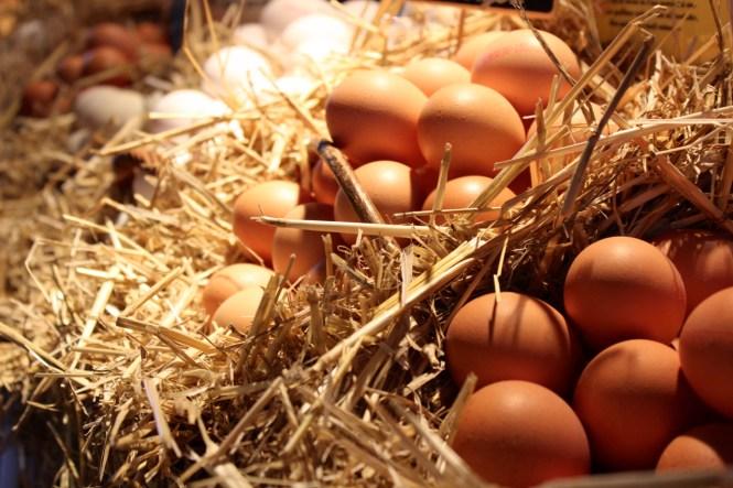 Einkaufen auf dem Markt_Eier