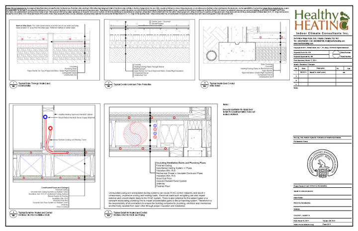 Sample set #2 design, drawings and specifications for