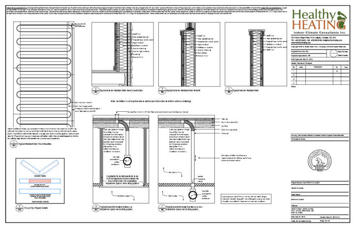 Sample set #4 design, drawings and specifications for