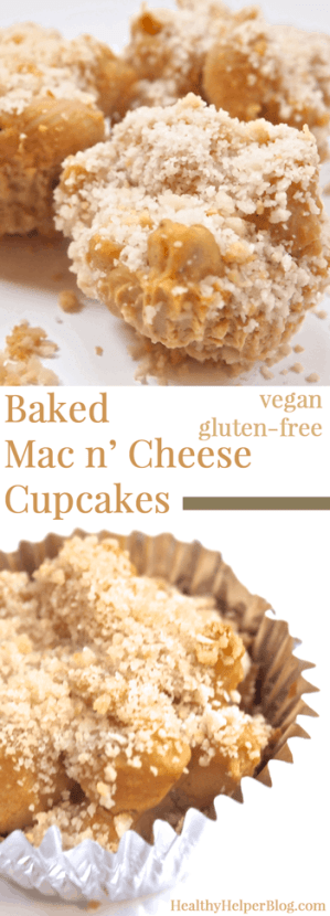 Baked Mac n' Cheese Cupcakes
