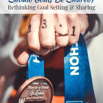 Should Goals Be Shared? | Healthy Helper A discussion on whether goals should be shared or kept private. Plus, thoughts on whether sharing your goals prematurely makes you less likely to follow through with them!