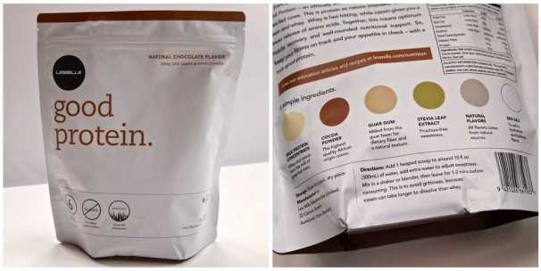 Good Protein from Les Mills-Chocolate Flavor & Nutritional Information
