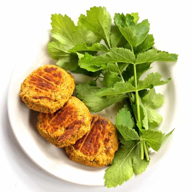 Oil-Free Vegan Falafel   Perfectly spiced lentil patties that are baked instead of deep-fried! This healthy, vegan alternative to traditional falafel is full of plant-based protein and FLAVOR. A traditional middle-eastern favorite with a delicious modern twist!