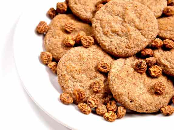 Soft Baked Ginger Spiced Cookies from @Healthy_Helper