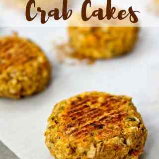 Vegan Crab Cakes from Healthy Helper Blog...gluten-free, oil-free, and totally delicious! The perfect alternative for vegans and seafood lovers alike! http://healthyhelperblog.com?utm_source=utm_source%3DPinterest&utm_medium=utm_medium%3Dsocialmedia&utm_campaign=utm_campaign%3Dblogpost