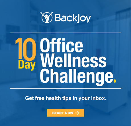 10 Office Wellness Challenge with BackJoy