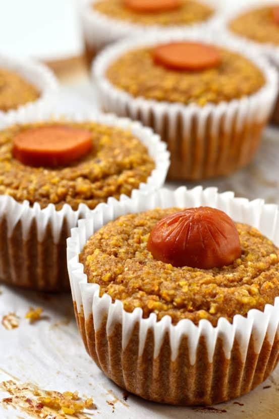 Vegan Corn Dog Muffins | Healthy Helper @Healthy_Helper