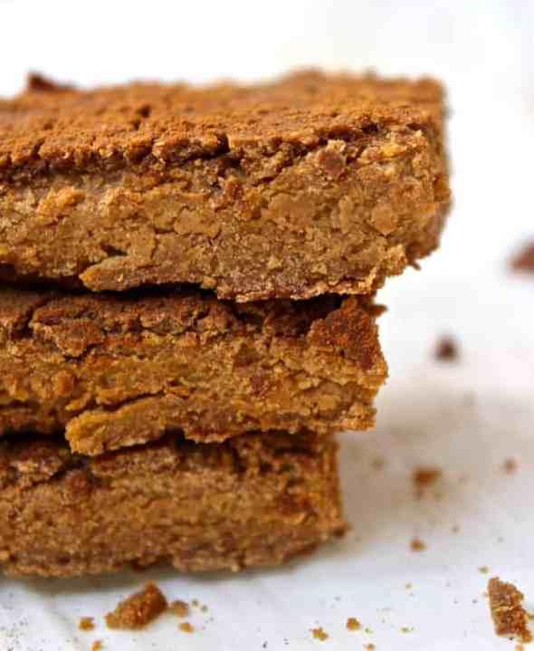 3 Ingredient Peanut Butter Blondies | Healthy Helper @Healthy_Helper